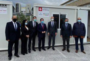 Δωρεά της ελβετικής κυβέρνησης στη 2η ΥΠΕ