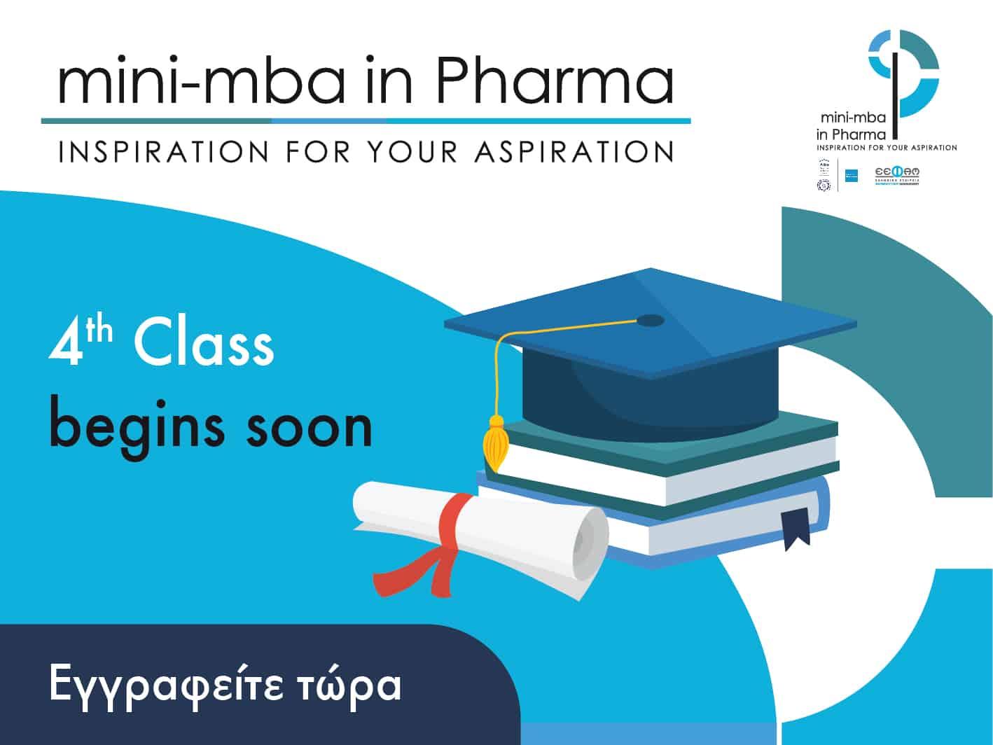 4th class 'mini mba in Pharma'